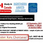 Seminar by Northern Lights College , Canada